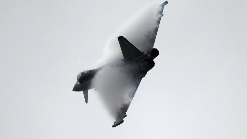 Zwei Eurofighter-Jets in Mecklenburg-Vorpommern abgestürzt: Ein Pilot tot geborgen