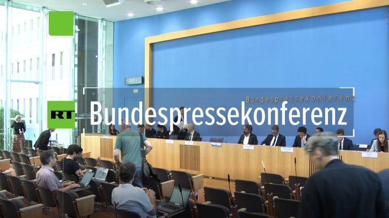 Bundespressekonferenz: Wir tun so, als wäre der Iran schuld