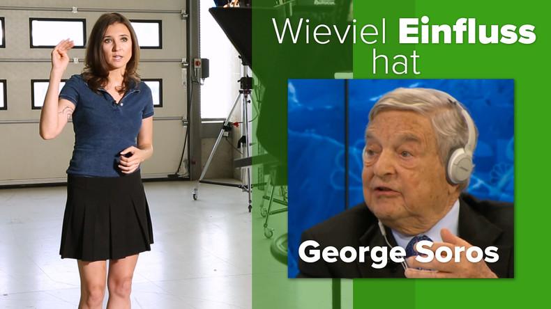 Der Menschenfreund George Soros und der Etikettenschwindel seiner NGOs (Video)