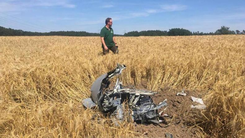 Eurofighter-Absturz: Polizei gibt Ermittlungen an Bundeswehr ab