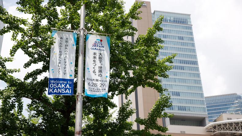 G20-Gipfel in Ōsaka: Japan schließt Schulen und verschärft Sicherheitsregeln