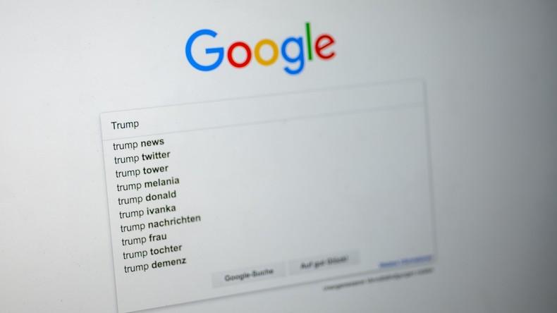 Google als Wahlmanipulator? Laut Insider will Google Trumps Wiederwahl verhindern (Video)