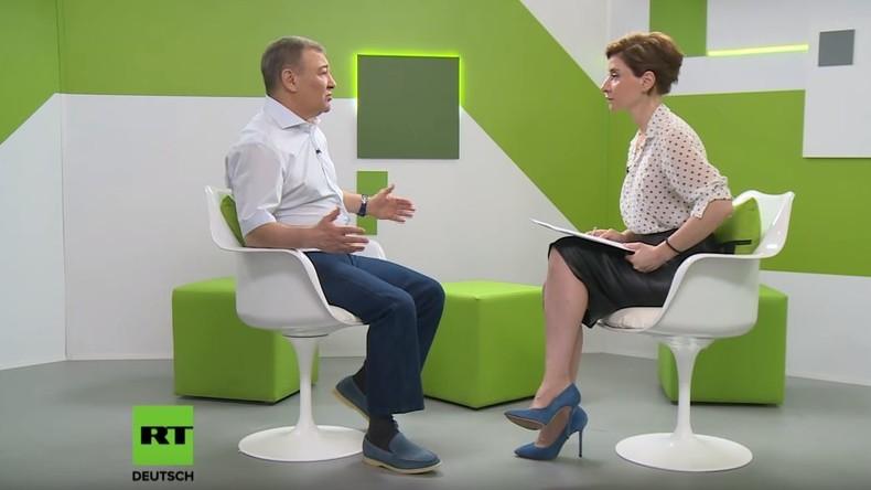 """Russischer Unternehmer Arkadi Rotenberg: """"Wir haben gelernt, mit diesen Sanktionen zu leben"""" (Video)"""
