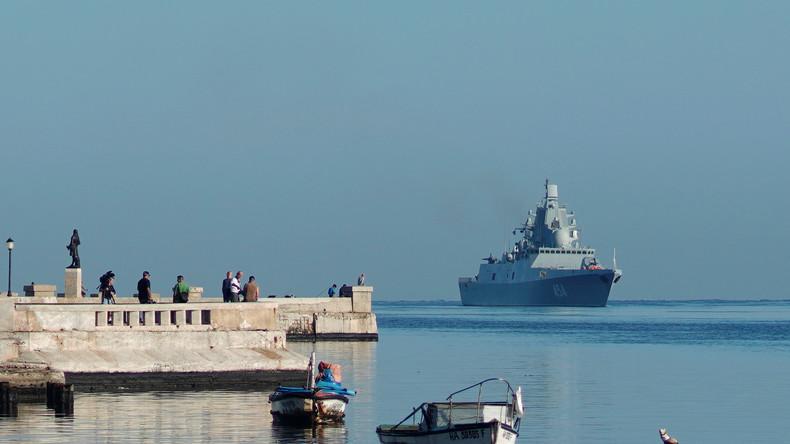Kuba: Russische Kriegsschiffe kommen zu offiziellem Besuch in Havanna an