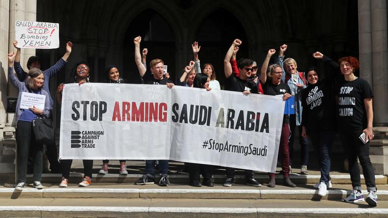 Gerichtsurteil verbietet weitere britische Waffenlieferungen an Jemen-Aggressoren