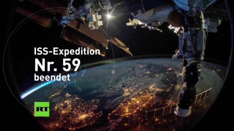 Ende der Sojus-Mission: Raumfahrer kehren nach sieben Monaten auf der ISS zur Erde zurück