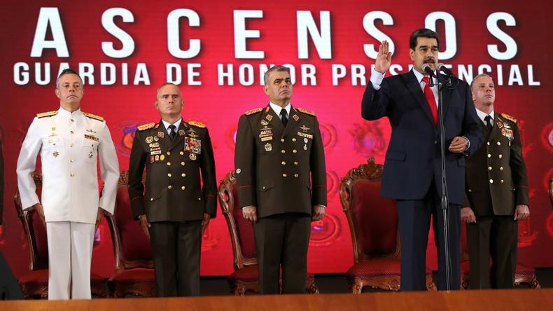 Venezuela: Regierung wehrt weiteren US-unterstützten Putschversuch ab