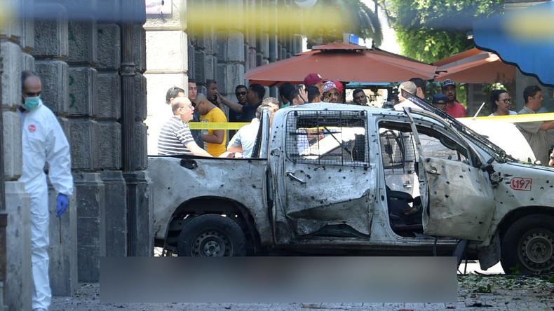 Tunesien: Zwei Selbstmordanschläge nacheinander in Tunis