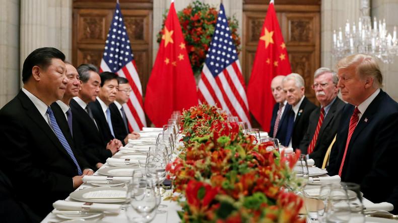 """China und USA sollen sich vor G20-Gipfel auf """"Feuerpause im Handelskrieg"""" geeinigt haben"""