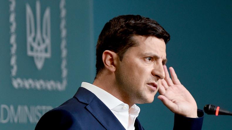 Ukraine: Präsident wirft Poroschenko-Außenminister Sabotage vor