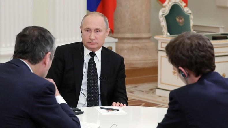 Putin: Wir haben nichts gegen Homosexuelle, sie sollen so leben, wie sie das für richtig halten