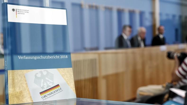 Verfassungsschutzbericht 2018: Linke, Rechte und andere Gefahren