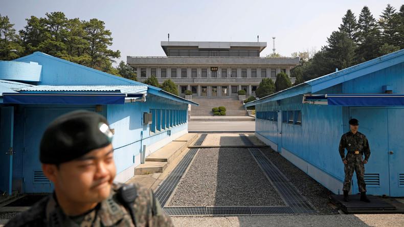Atom: Trump vor Begegnung mit Kim in entmilitarisierter Zone eingetroffen