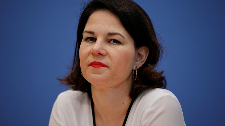 Annalena Baerbock: Merkels Zitteranfälle sind Folge des Klimawandels