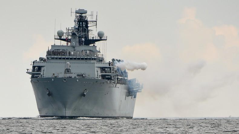 """""""Klare Botschaft"""" an Moskau: Größte Präsenz der britischen Marine nahe Kaliningrad seit 100 Jahren"""