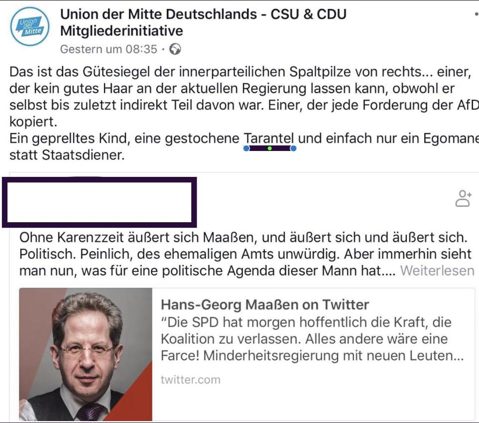 """""""Maaßen, die gestochene Tarantel"""": Die Geschlossenheit der CDU bröckelt"""