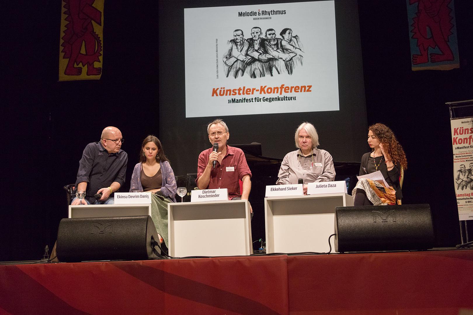 Künstlerkonferenz von Melodie & Rhythmus: Über Zeiten, in denen man nicht nur Schauspieler sein darf