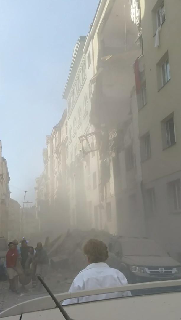 Nach Explosion in Wien: Suche nach Verschütteten geht weiter