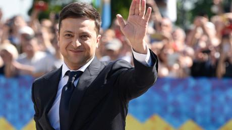 Neuer Präsident der Ukraine Wladimir Selenskij: Vom Volk bejubelt, vom Parlament bekämpft.