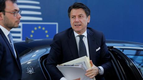 Der italienische Ministerpräsident Guiseppe Conte, Brüssel, Belgien, 22. März 2019.