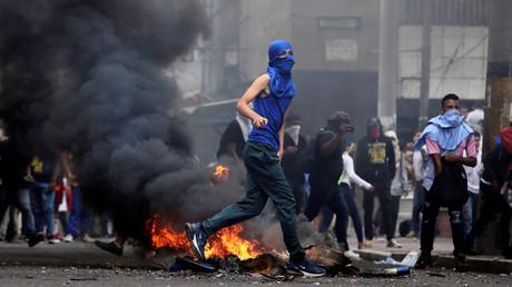 Proteste in Tegucigalpa, Honduras