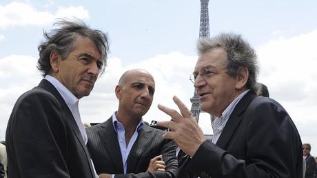 Bernard-Henri Lévy (l.) und Alain Finkielkraut (r.), zwei