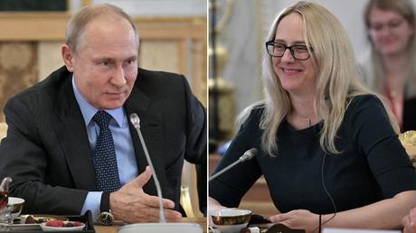 Treffen wir uns auf Tatami? Putin schlägt US-Journalistin vor, auf Judomatte zu kämpfen