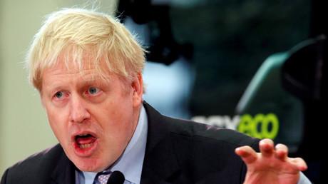 Boris Johnson, Großbritannien, 18. Januar 2019.