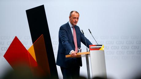Friedrich Merz auf der CDU-Regionalkonferenz in Düsseldorf (28. November 2018)