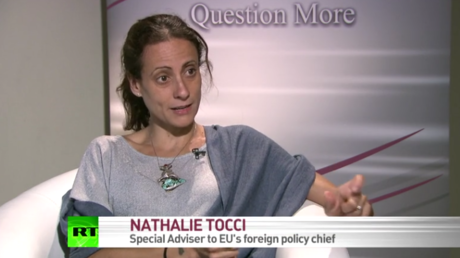 Nathalie Tocci im RT-Interview.