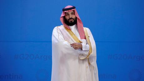 Saudi-Arabiens Kronprinz Mohammed bin Salman während des G20-Gipfels in Buenos Aires, Argentinien 30. November 2018.