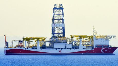 Das türkische Bohrschiff