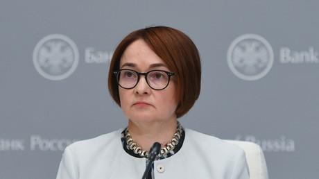 Chefin der Zentralbank Russlands Elwira Nabiullina