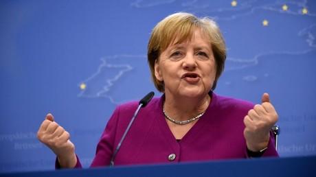 Von ihr hängt Einiges ab: Angela Merkel beim EU-Gipfel im Mai 2019