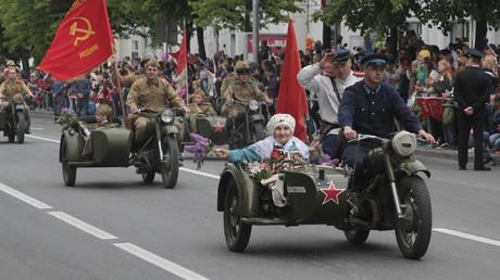 Lebendige Geschichte: Parade in Sewastopol zum Tag des Sieges über Nazi-Deutschland (9. Mai 2019)