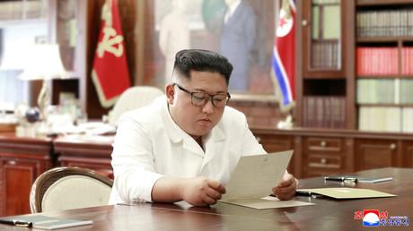 Kim Jong-un erhält Post von Donald Trump