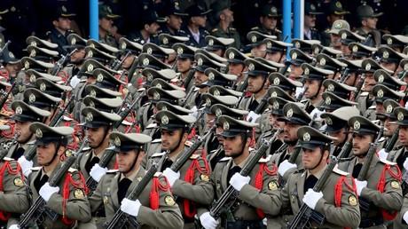 Parade des iranischen Militärs. Archivbild.