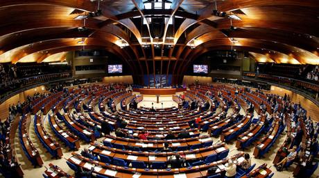 Parlamentarische Versammlung des Europarats im April 2017
