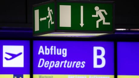 Flughafen Frankfurt, Deutschland, 14. Januar 2019