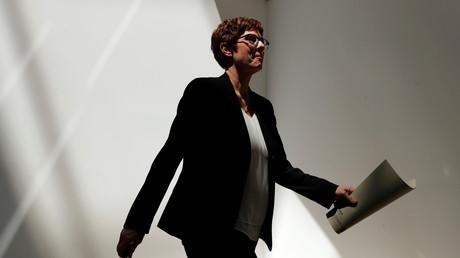 CDU-Vorsitzende Annegret Kramp-Karrenbauer, Berlin, Deutschland, 3. Juni 2019.