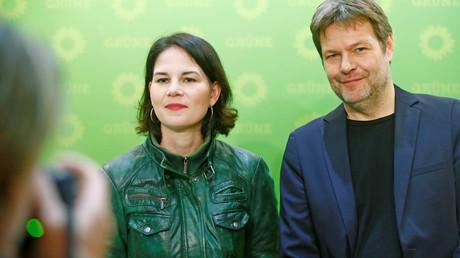 Läuft für sie, immer noch: Die Grünen-Chefs Robert Habeck und Annalena Baerbock im Januar 2019 in Berlin