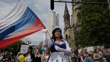 Russische Teilnehmer an