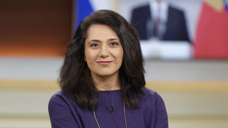 Gern geladener Gast in Talkshows zur Ukraine-Krise: die ehemalige Moskau-Korrespondentin Golineh Atai (bei