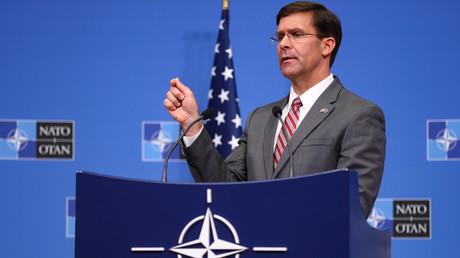 Beim NATO-Verteidigungsministertreffen in Brüssel versuchte der amtierende US-Verteidigungsminister Mark Esper, eine gemeinsame Front gegen den Iran zu schmieden.