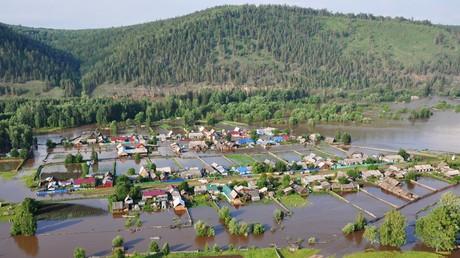Überschwemmungen im Gebiet Irkutsk: Wetterbericht sagt nichts Gutes voraus