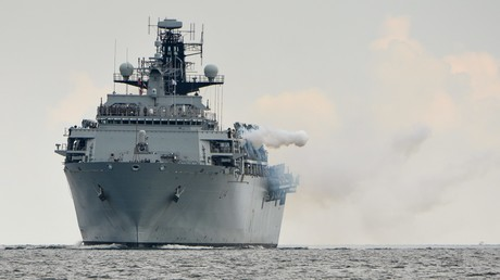 HMS Albion (Archivfoto, hier bei Kieler Woche nach den NATO-BALTOPS)