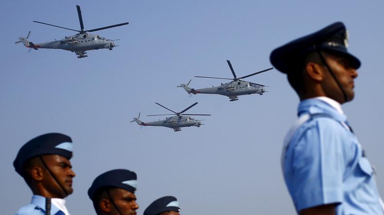 Indien kauft Panzerabwehrraketen aus Russland für seine Mil Mi-35-Kampfhubschrauber