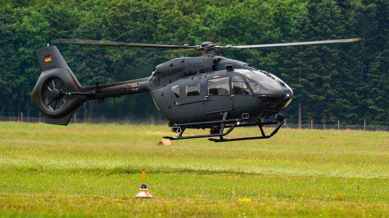 Bundeswehr-Hubschrauber in Niedersachsen abgestürzt - Mindestens ein Todesopfer
