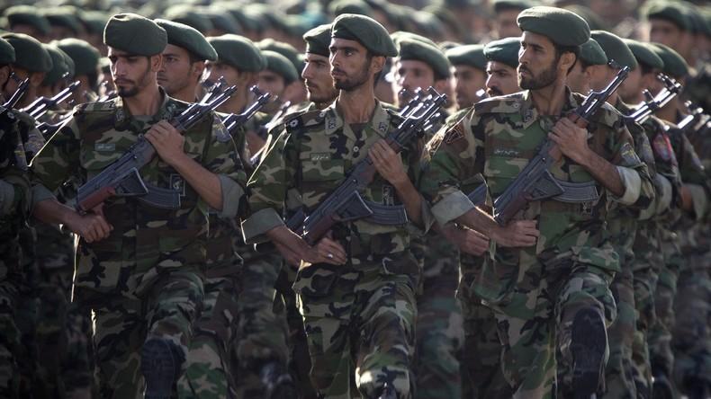 """Iranische Revolutionsgarde warnt USA: """"Werden Aggressoren schweren Schaden zufügen"""""""