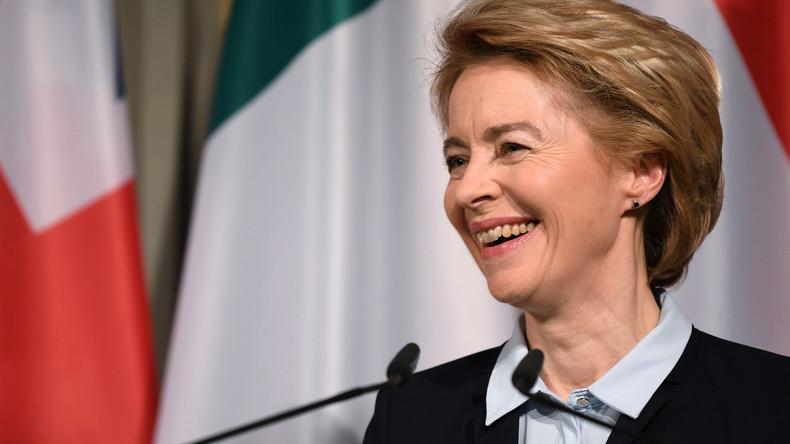 Medienbericht: Ursula von der Leyen soll EU-Kommissionspräsidentin werden